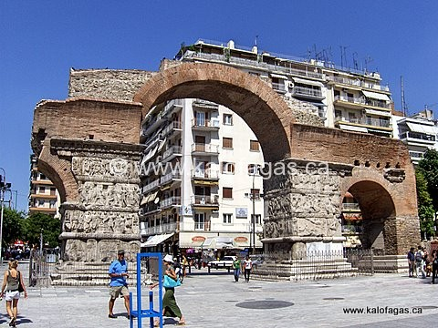 Arch of Galerius, Thessaloniki, Greece